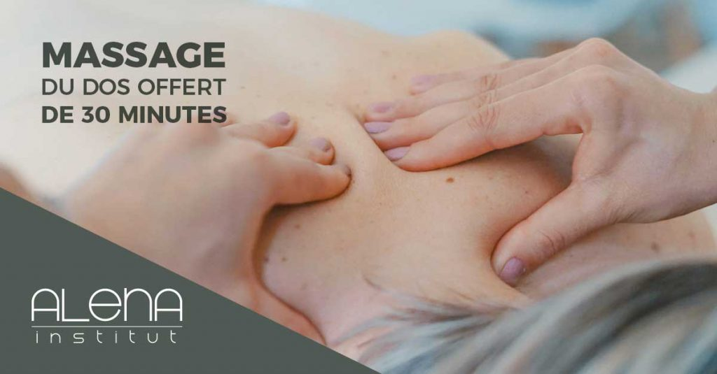 Alena Institut - free back massage