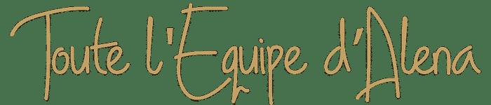Signature Equipe Alena Institut